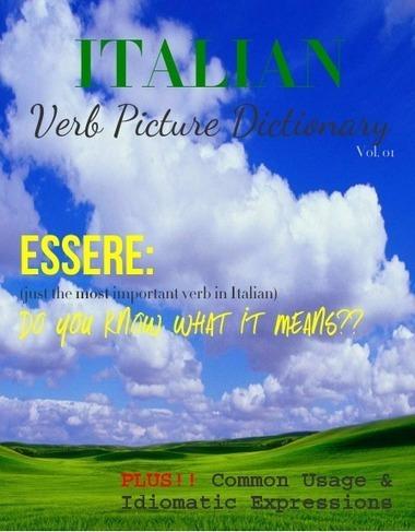 Italian Verb Picture Dictionary: Vol. 01 Essere - Glossi by Alex Barfuss - Glossi.com | Learn Italian pdf | Scoop.it