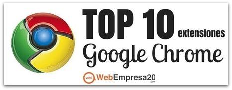 10 Extensiones Google Chrome que no puedes dejar pasar | Tecnología 2015 | Scoop.it