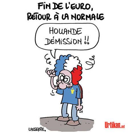 La France a perdu ! | Dessinateurs de presse | Scoop.it