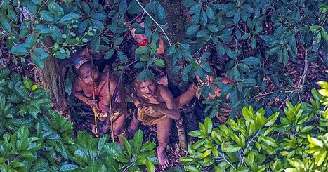 Photographer Spots an Uncontacted Tribe in the Amazon | All about water, the oceans, environmental issues | Scoop.it