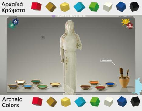 ΧΡΩΜΑΤΙΣΕ ΤΗΝ ΠΕΠΛΟΦΟΡΟ-COLOREA UNA KORÉ (Museo de la Acrópolis) | Classical Geek | Scoop.it