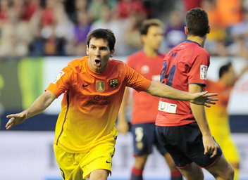 Osasuna-Barça (1-2): Messi evita otro resbalón en Pamplona | FCBarcelona | Scoop.it