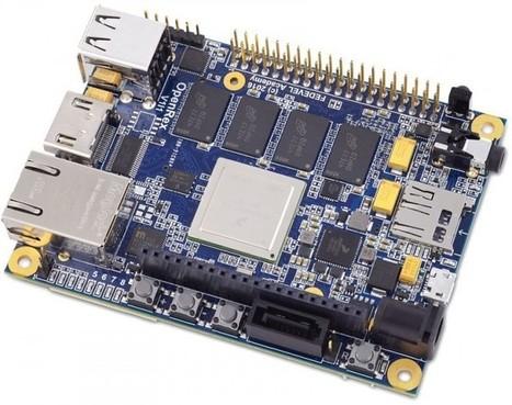 OpenRex: Open-Source Freescale i.MX6 Development Board With Arduino & Raspberry Pi Like Headers   Raspberry Pi   Scoop.it
