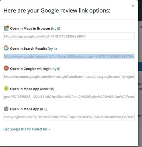 How to Create a Google Reviews Landing Page for Your Business | DISCOVERING SOCIAL MEDIA | Scoop.it