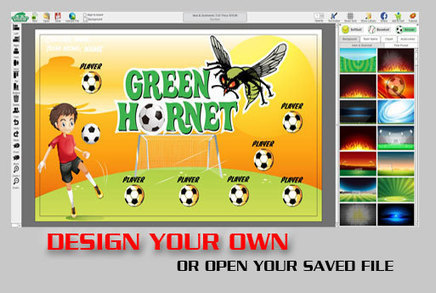 make your own triangle soccer pennants soccer
