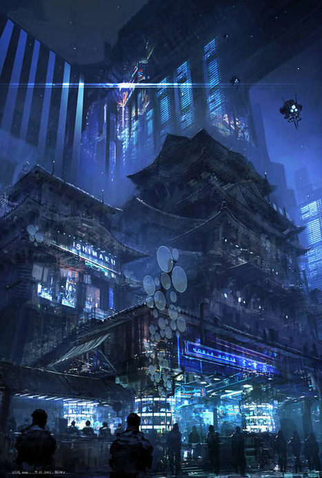 The Work of Master Concept Artist Feng Zhu | Psdtuts+ | Awesome digital art | Scoop.it