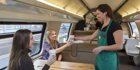 Now There's A Starbucks On A Train - Business Insider | Coffee Lovers | Scoop.it