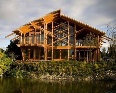 Inspiration maison de rêve design en bois the guscott kemp residence blog déco maison