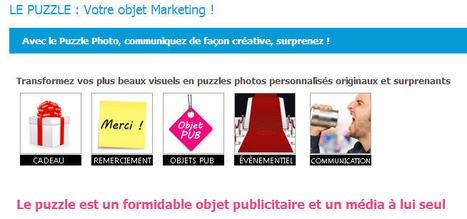 Le puzzle ? Un objet publicitaire et support de communication marquant ! | Jeux store | Scoop.it