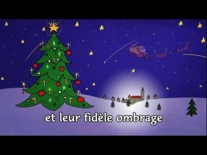 "Chanson ""Mon beau sapin"" 