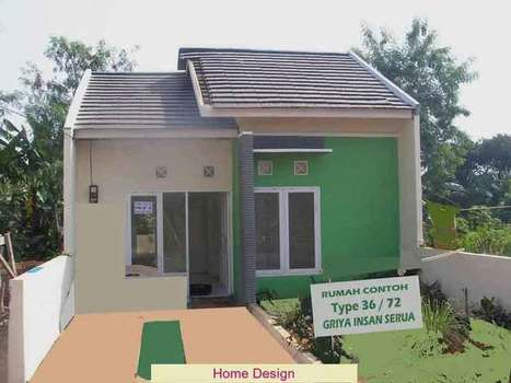 desain rumah ukuran type 36