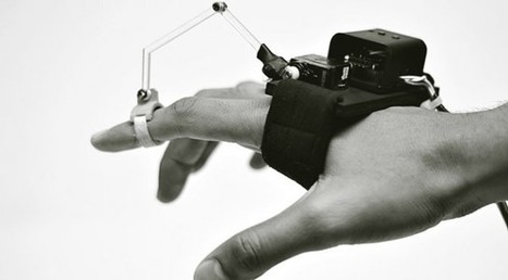Robotic Glove Designed To Teach Anyone How To Draw | Communication design | Scoop.it
