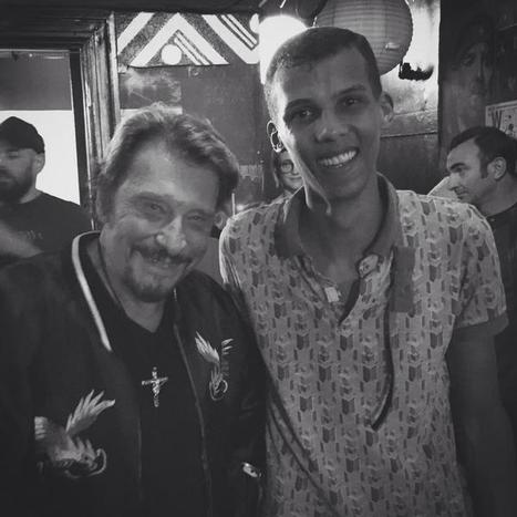 Stromae et Johnny Hallyday, quand deux monstres de scène se rencontrent | CHRONYX.be : on aime le son made in Belgium ! | Scoop.it