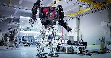 Construit en Corée du Sud, ce robot COLOSSAL pourrait servir à désinfecter la zone de Fukushima | Machines Pensantes | Scoop.it