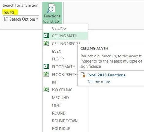 Syntax and usage navigation Add-in for Excel 20