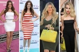 L'évolution physique de Khloé Kardashian | Infos Mode, Beauté , VIP, ragots, buzz ... | Scoop.it