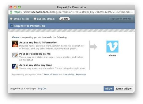 Digital Life - Browser add-on eases Facebook app privacy fears | Technology and Gadgets | Scoop.it