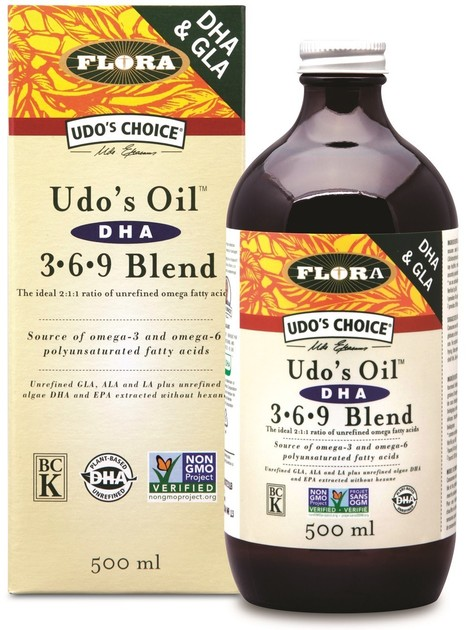 FLORA UDO OIL DHA 369 BLEND | Business | Scoop.it