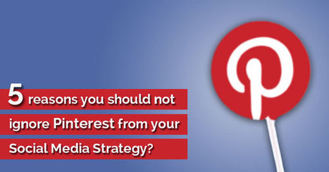 5 Reasons You Should Not Ignore Pinterest From Your Social Media Strategy - Business 2 Community | Social Media Company Valuations and Value Drivers | Scoop.it