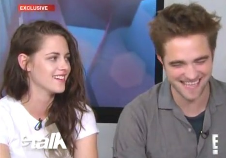 Video: Rob and Kristen talk their chemistry with eachother on eTalk | Robert Pattinson Daily News, Photo, Video & Fan Art | Scoop.it