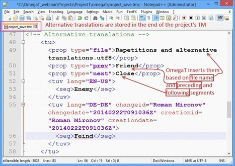 How to Translate Internal Repetitions in OmegaT (by Roman Mironov) | Translator Tools | Scoop.it