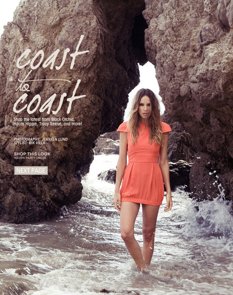 Revolve Clothing - Coast to Coast | alice in fashionland | Scoop.it