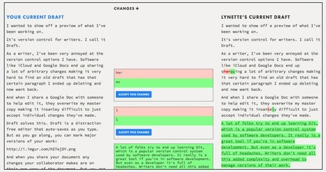Write Better with Draft - A New Collaborative Writing Tool | iPads In the CEO | Scoop.it