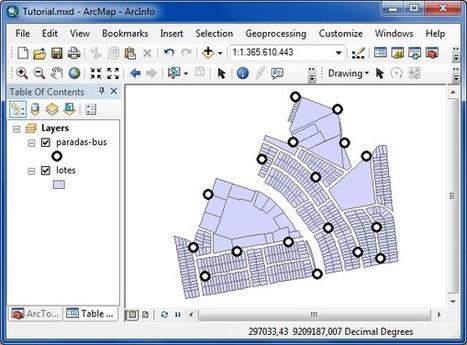 Como Trabalhar com Diagrama de Voronoi no ArcGIS | Anderson Medeiros | ArcGIS-Brasil | Scoop.it