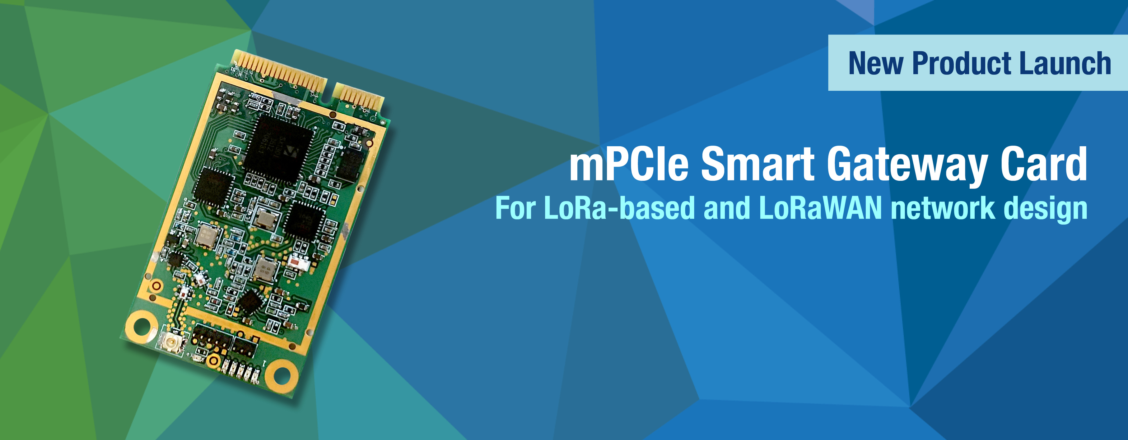 Just another mPCIe LoRa Gateway Card   The Fren