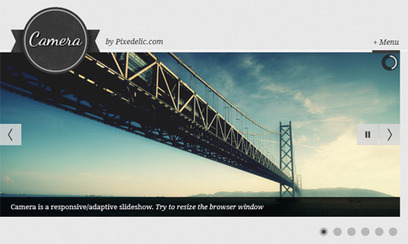 Responsive jQuery Slideshow Plugin With Touch Support – Camera | Slideshow & Carousel Jquery | Scoop.it