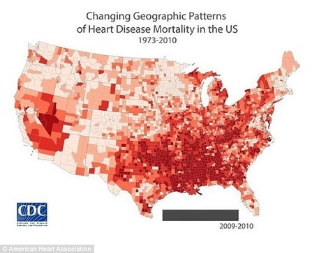 Heart disease rates are falling across the US... | Kickin' Kickers | Scoop.it