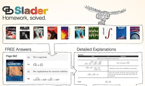 Welcome :: Homework Help and Answers :: Slader | KgTechnology | Scoop.it