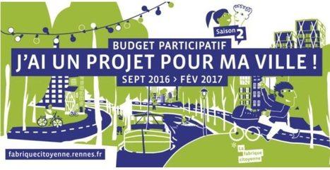 Rennes BUDGET PARTICIPATIF : la Ville retient 239 projets | Coopération, libre et innovation sociale ouverte | Scoop.it