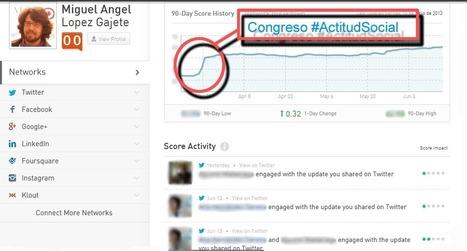 Klout y la influencia en redes sociales. @MiguelGajete | Noticias y Recursos Social Media | Scoop.it