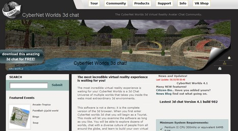 CyberNet Worlds  3d Virtual Reality Avatar Chat