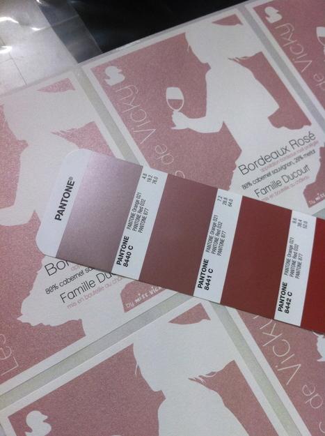 Les étiquettes sont sorties pour les bordeaux rosé et clairet de Vicky ! | MissVickyWine.com | Bordeaux wines for everyone | Scoop.it