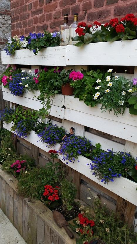 39 planter 39 in 1001 pallets ideas. Black Bedroom Furniture Sets. Home Design Ideas
