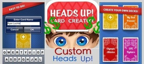 Charades Custom Card Creator (Heads Up) License | iOS - iPhone - App - Game - Reskin | Chupamobile | Mobile App Development | Scoop.it