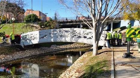Le premier pont imprimé en 3D inauguré en Espagne ! | FabLab - DIY - 3D printing- Maker | Scoop.it
