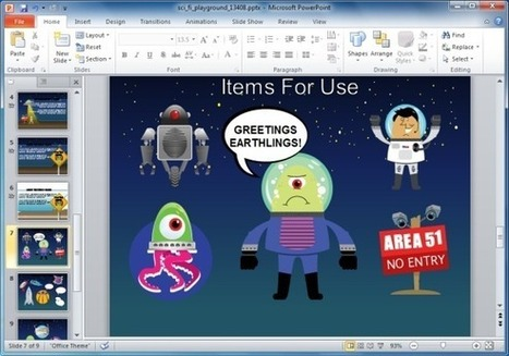 Animated sci fi powerpoint template for kids a animated sci fi powerpoint template for kids educational presentations powerpoint presentation toneelgroepblik Images