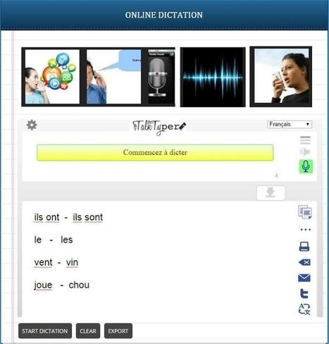 Reconnaissance vocale, Production orale et Correction de la prononciation | Remue-méninges FLE | Scoop.it