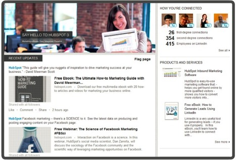 A Detailed Anatomy of the New LinkedIn Company Page Design | Great Ideas for Non-Profits | Scoop.it