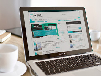 Maxxiz Responsive Blogger Template Free Download | Tricky Tricks 4U | Blogger themes | Scoop.it