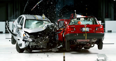 Physics of a Head-On Car Collision | California Car Accident and Injury Attorney News | Scoop.it