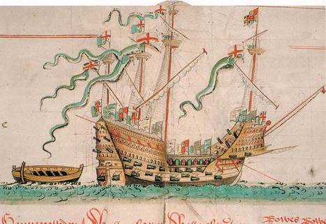 Mary Rose: Tudor Painting and Tidal Analysis Offer Clues as to why it sank | Nereides Diary | Scoop.it