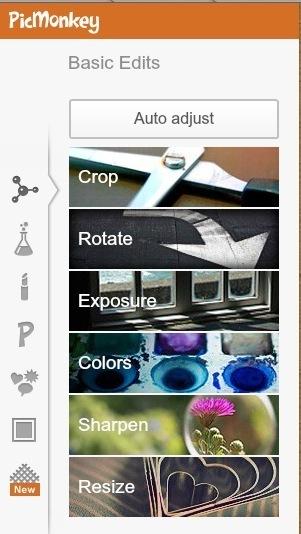 Modifica e Ritocca le Tue Foto Con PicMonkey | EditareImmagini | Scoop.it