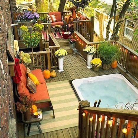 30 Rooftop Garden Design Ideas Adding Freshness to Your Urban Home | Container Gardening | Scoop.it