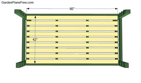 Daybed Plans | Free Garden Plans - How to build garden projects | Diy Furniture Plans | Scoop.it