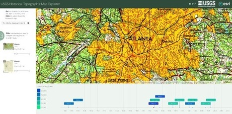 Track a Century of U.S. Development With a Tool That Centralizes Old Maps | Mrs. Watson's Class | Scoop.it
