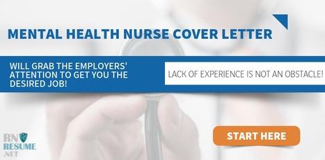 Memorable Mental Health Nurse Cover Letter   RN...